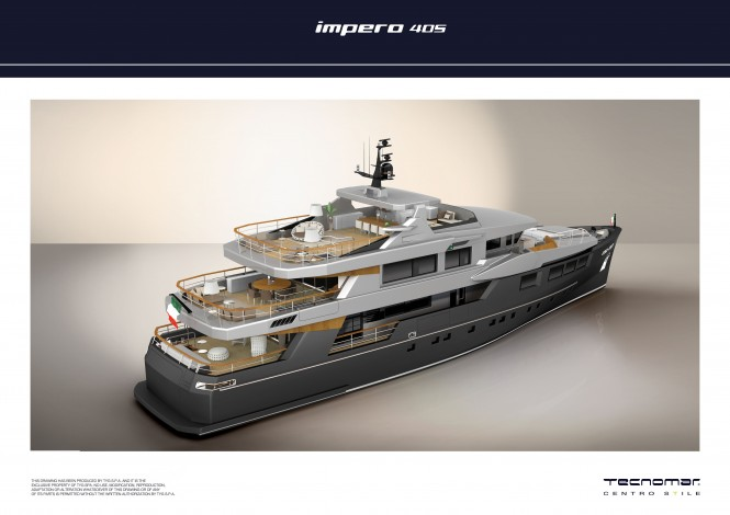Tecnomar signs sales contract for new superyacht IMPERO 40