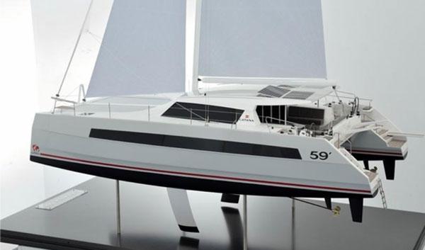 The New Catana 59 Sailing Catamaran