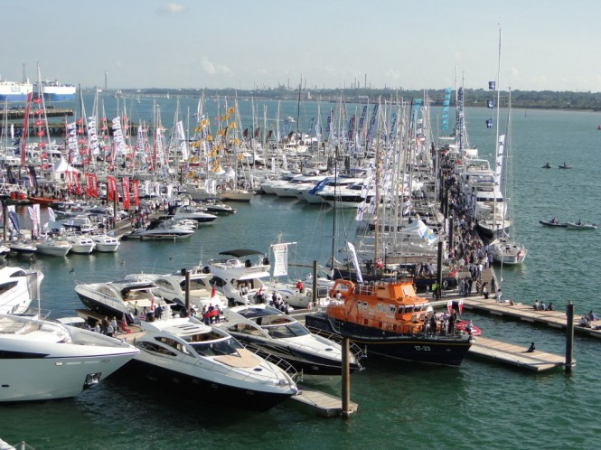 Yachting Industry shows resilience at 2011 PSP Southampton Boat Show - Credit PSP South Hampton Boat Show OnEdition 2011