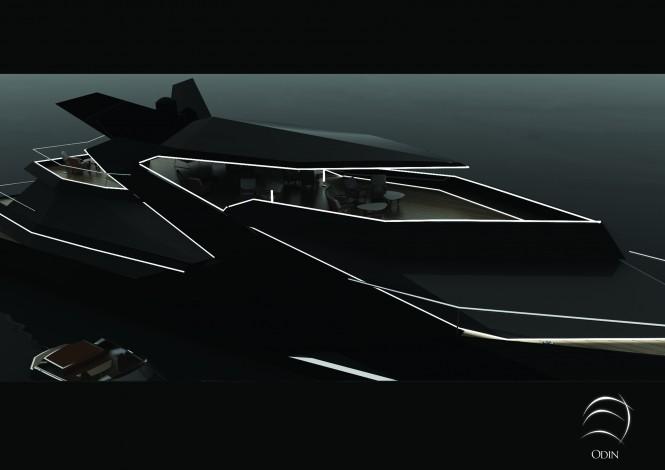 50m Sigmund Yacht Design motor yacht concept Odin