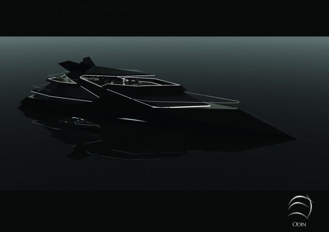50m super yacht concept Odin by Sigmund Yacht Design