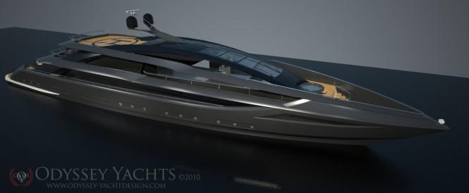 52m motor yacht Veloce by Odyssey Yacht Design