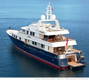 Golden Neptunes for MCM's sailing yachts Kokomo, Lionheart and motor yacht Calliope