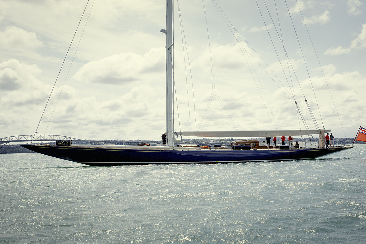 Classic sailing yacht Endeavour launched after 18 month ...