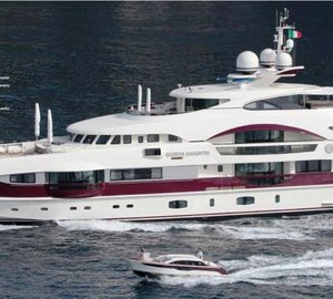 Heesen Motor Yacht Quinta Essentia available for luxury Mediterranean yacht charters