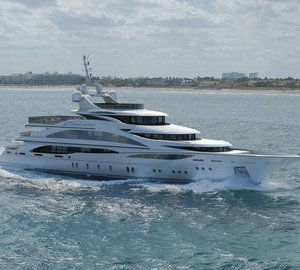 Benetti Yachts pre-launch 61m charter yacht Diamonds Are Forever