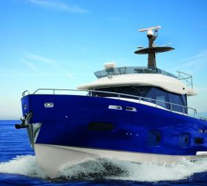 Azimut Magellano 50 superyacht at 2011 Nautical Design Awards
