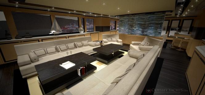 Motor Yacht VELOCE -  Odyssey Yacht Design - Interior