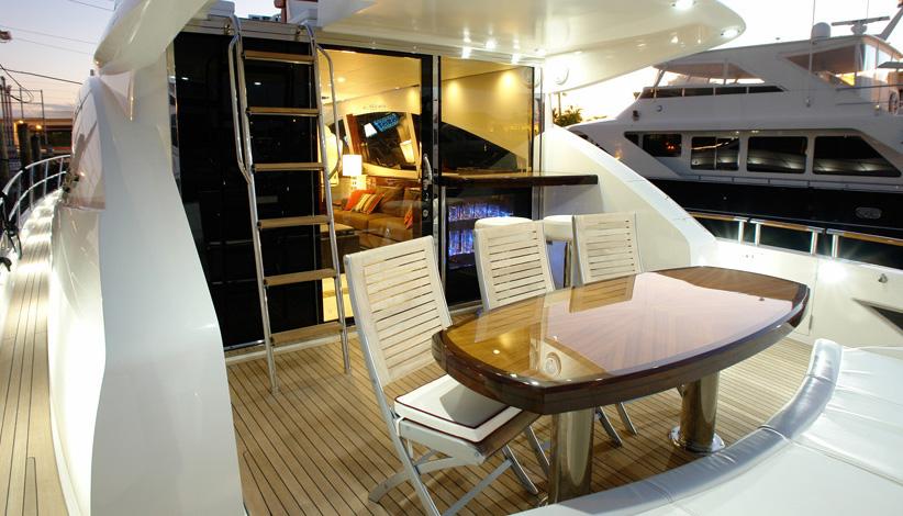 Yacht AWOL – a LSX 78 series motor yacht by Lazzara - Photo Credit Lazzara