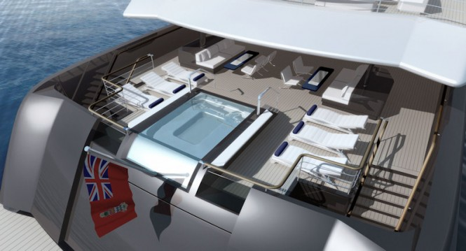 RMD 90m Motor Yacht Illusion to be built at Raffles Shipyard