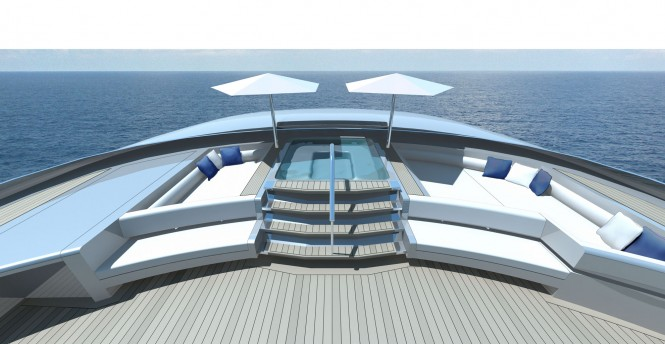 RMD 90m Superyacht Illusion to be built at Raffles Shipyard