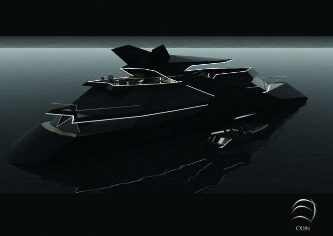 Sigmund Yacht Design luxury yacht concept Odin