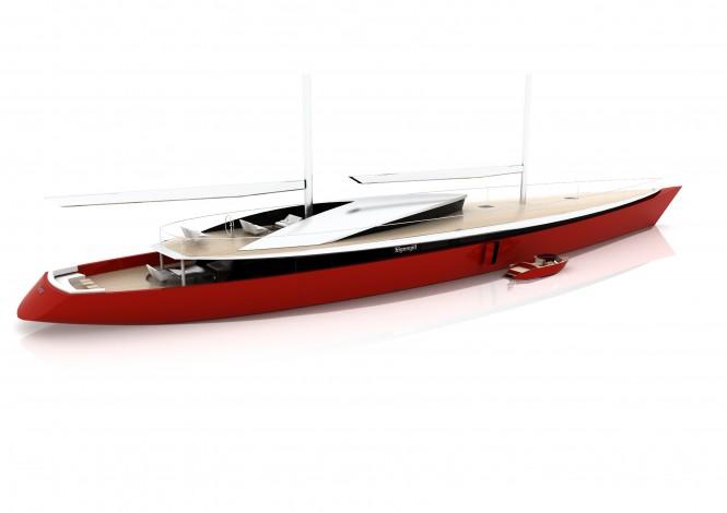 Sigmund Yacht Design luxury yacht concept Vestar