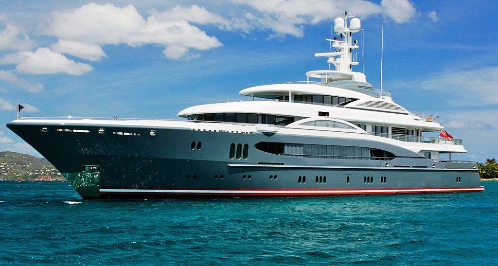 Superyacht Kismet - Credit Lurrsen