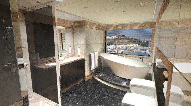 Veloce superyacht by Odyssey Yacht Design - Head