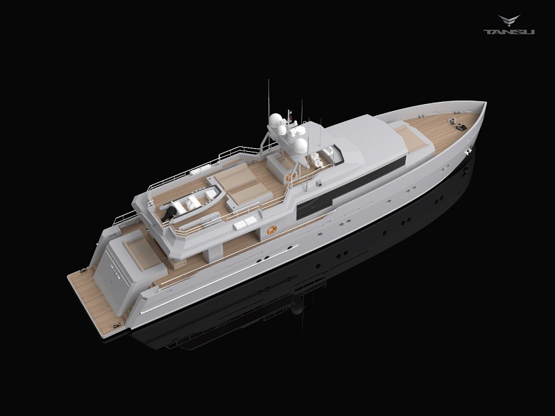 34m luxury yacht Only Now by Riza Tansi and Diana Yacht Design