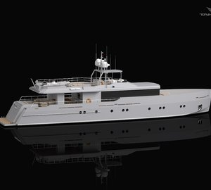 New 34m motor yacht 'Only Now' (Diana 448) by Riza Tansu and Diana Yacht Design