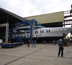 Trinity 57m Lady Linda (ex T050) Superyacht launched