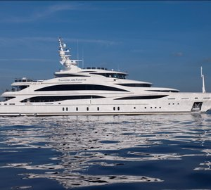 61m Charter yacht Diamonds are Forever launched by Benetti Yachts