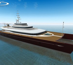 Coste Design's 62m catamaran yacht 'Event Cat' with Blue Coast Yachts