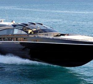 Baia 100 motor yachts Argonauts and Katara III