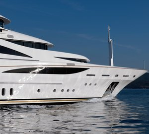 Benetti 60m 'Diamonds Are Forever' Superyacht officially launched