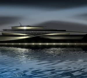 Images of the 2011 Feadship superyacht  'Qi' concept