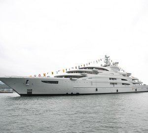 134m Fincantieri superyacht SERENE by Espen Oeino