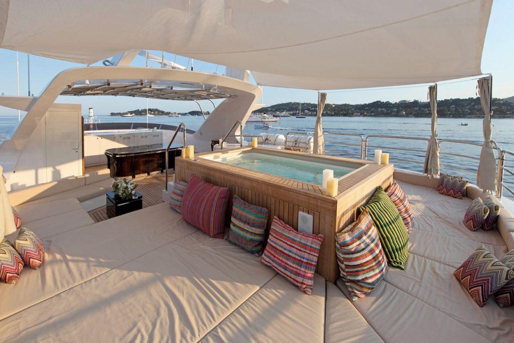 Motor Yacht TOLD U SO - Spa Pool