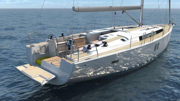 The Sailing yacht Hanse 495 - Credit HanseGroup AG
