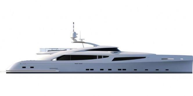 40m GRANTURISMO superyacht by ISA