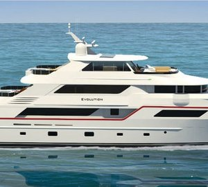 50m luxury explorer motor yacht EVOLUTION by Trinity Yachts