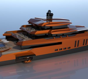New 52m catamaran motor yacht EVA by Misha Merzliakov
