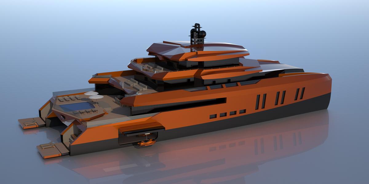 52m catamaran yacht EVA by Misha Merzliakov — Yacht Charter & Superyacht News