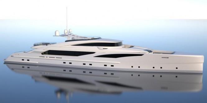 60m GRANTURISMO superyacht by ISA