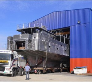 33m Alu Marine Superyacht under construction