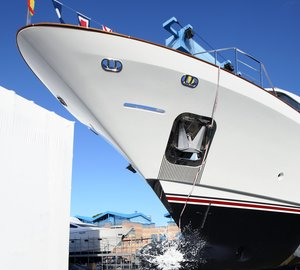 Benetti Classic 121´ Motor Yacht FF1 launched