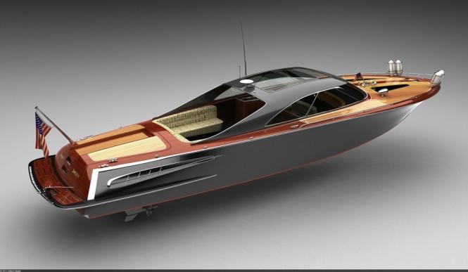 Bo Zolland mega yacht tender Strand Craft 39' Coupé