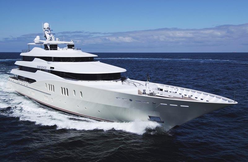 Eminence yacht by Abeking & Rasmussen - sister-ship to 78m mega yacht C2