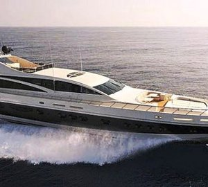 The 43m Leopard Yacht Makira is New to the Luxury Yacht Charter Market