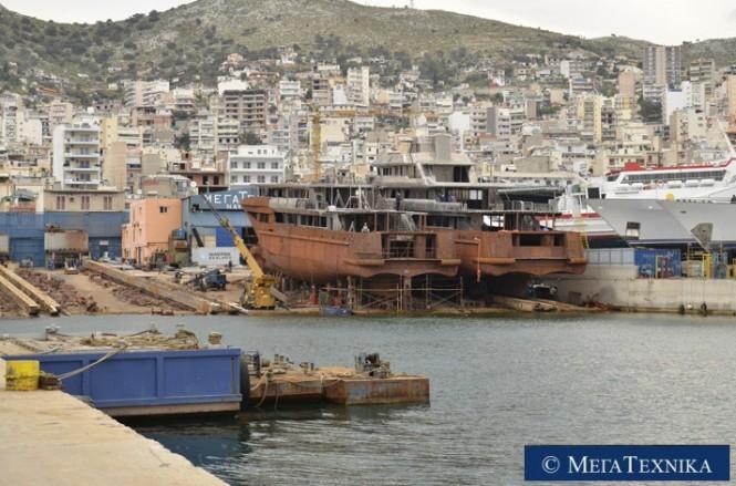 Mega Technica 50m Hull 163.10 and Hull 164.10 yachts
