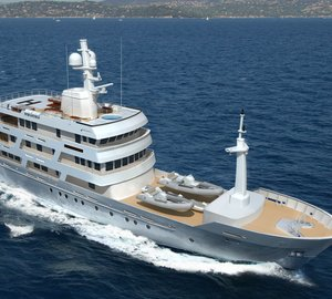 New 54m motor yacht Chuggaboom designed by Vripack
