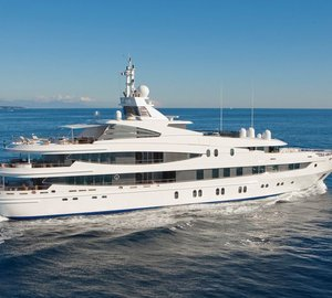 Oceanco motor yacht NATITA offering huge charter discount in the Caribbean