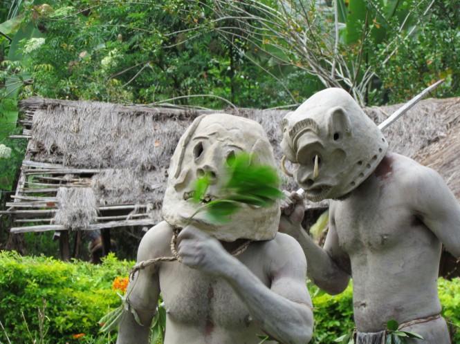 Papua New Guinea luxury yacht charter location - Asaro - Mudmen