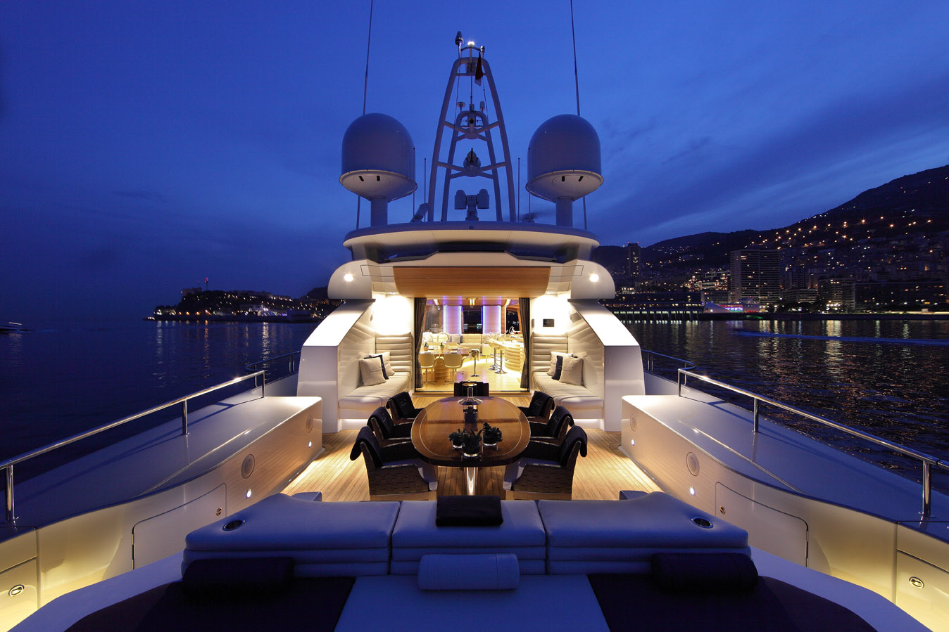 Main Saloon from Aft Deck