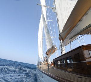 Additional photos of the stunning 25m sailing yacht Shindela by Arkin Pruva Argos Yachts