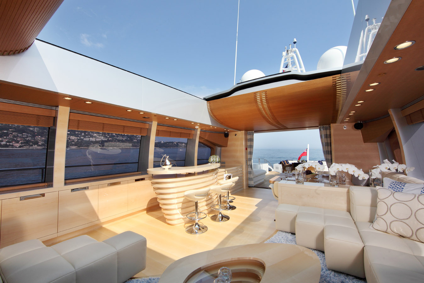 Shooting Star by Danish Yachts - Sunroof Open