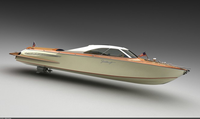 Stunning 39' Coupé mega yacht tender by Bo Zolland for Strand Craft