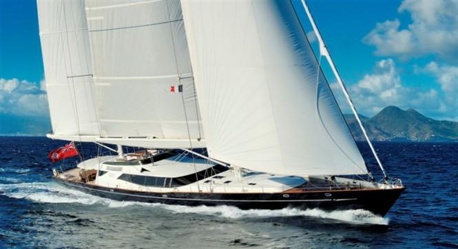 Stunning and unique Dubois designed superyacht Drumbeat
