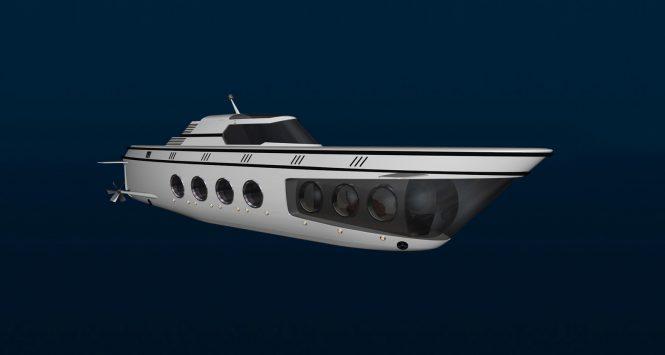 65m Luxury Undersea Yacht Phoenix 1000 by US Submarines